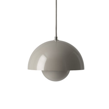 Flowerpot Pendant Light - Grey Beige