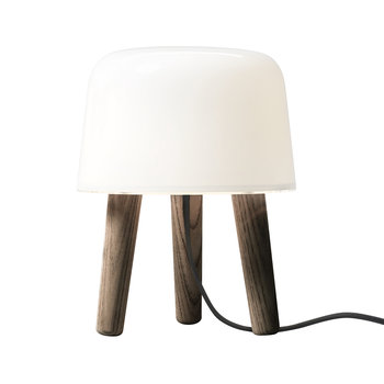 Milk Table Lamp - Smoked