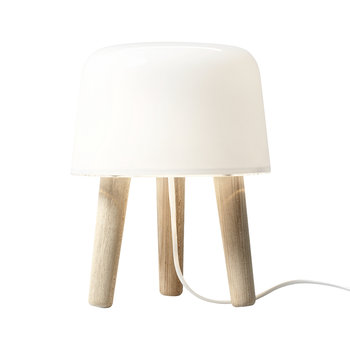 Milk Table Lamp - White