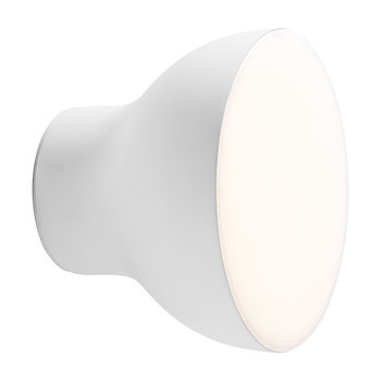 Passepartout Circular Wall Lamp - Matt White