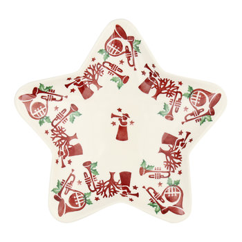 Joy Trumpets Star Salad Plate