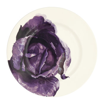 Vegetable Garden Red Cabbage Salad Plate