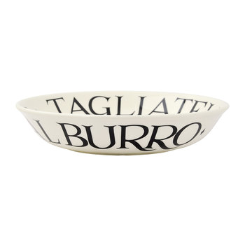 Black Toast Bowl - Small Pasta Bowl