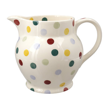 Polka Dot Pitcher