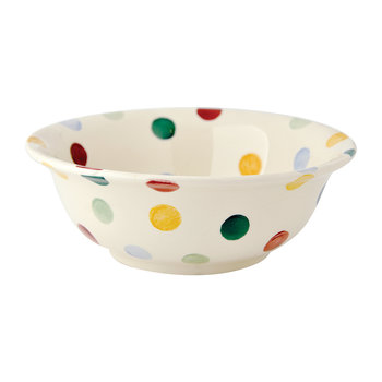 Polka Dot Bowl - Cereal Bowl