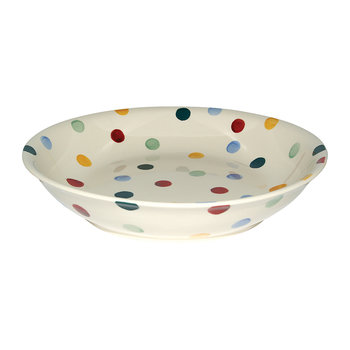 Polka Dot Bowl - Medium Pasta Bowl