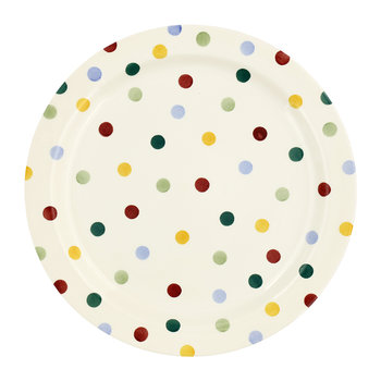 Polka Dot Serving Plate