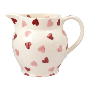 Pink Hearts Pitcher