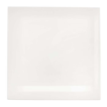Table Square Plate - White - Lunch Plate