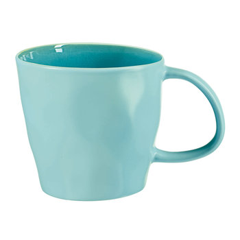 Beach Crackle Coffee Mug - Turquoise