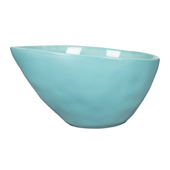 Beach Crackle Bowl - Turquoise - Cereal Bowl