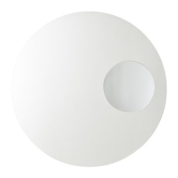 Neutrino Wall Mirror - White