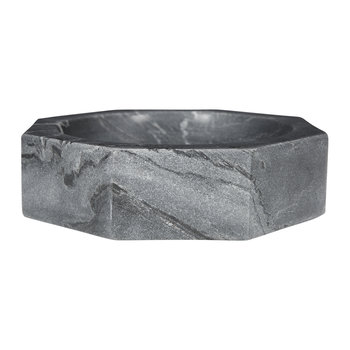 Marble Nut Bowl - Gray