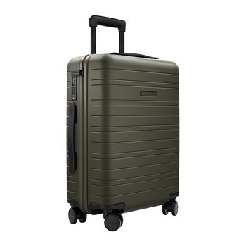 Essential Hard Shell Cabin Suitcase - Dark Olive