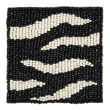 Zebra Coaster - Set of 4