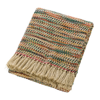 Woven Fringed Throw - 130x170cm