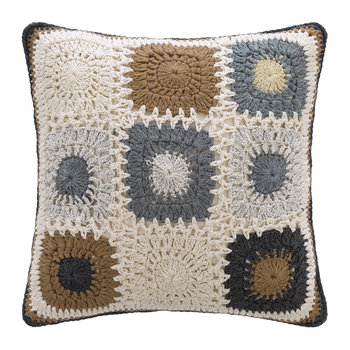 Crochet Cushion - 45x45cm