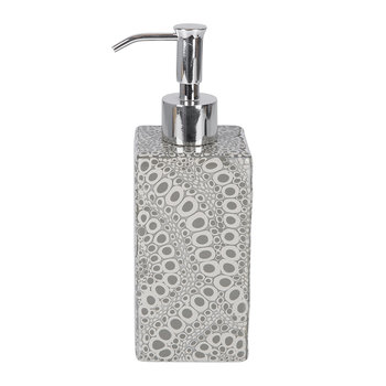 Proseco Soap Dispenser - Gravel/Silver