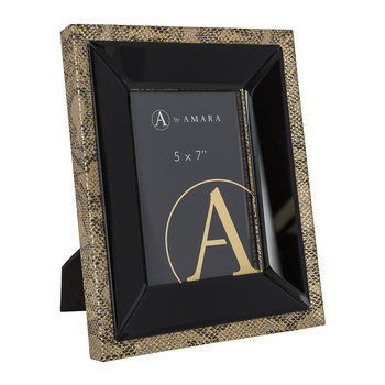 "Snake Photo Frame - 5x7"" - Gold"