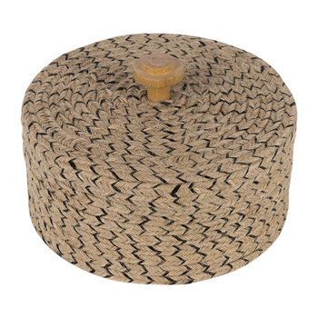 Wicker Woven Pot - Large