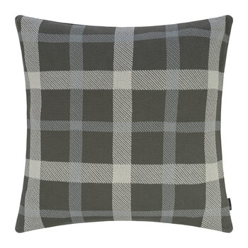 Check Cushion - 50x50cm - Honeydew & Ivory