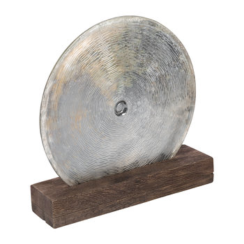 Scratched Glass Disc Object