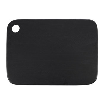 Rectangular Acacia Wood Chopping Board - Black