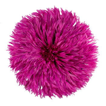 Headdress Feathered Ornament - Large - Pink