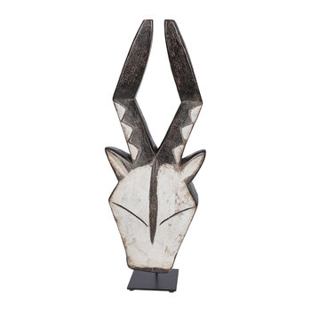 Kwele Antelope Mask Ornament - Natural