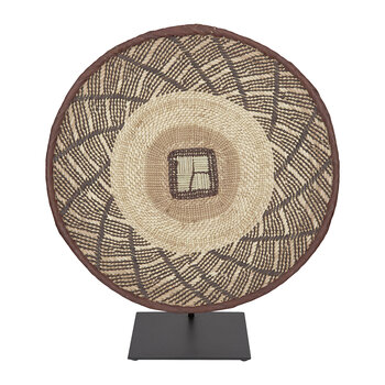 Tonga Basket Ornament - Small - Natural