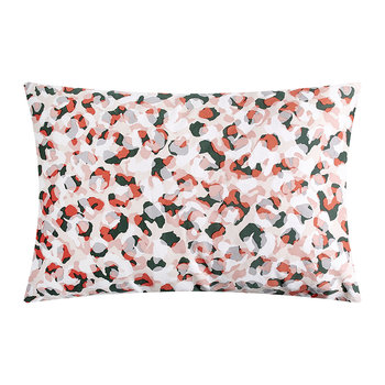Wild Geo Standard Pillowcase - Blush