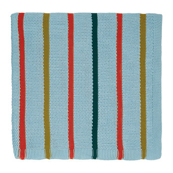 Lintu Knitted Throw - Marina
