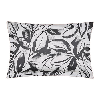 Padua Oxford Pillowcase - Charcoal
