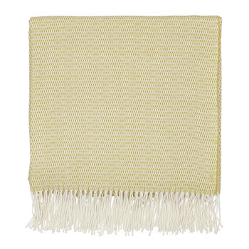 Coraline Woven Throw - Chartreuse