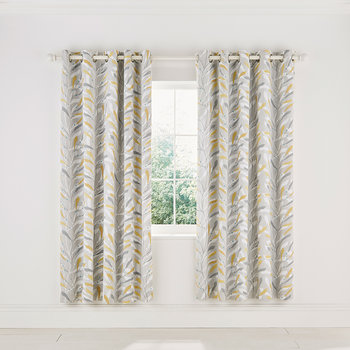 Sea Kelp Curtains - Ocher