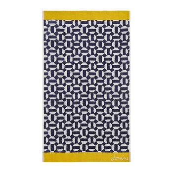 Honeycomb Geo Towel - Comet