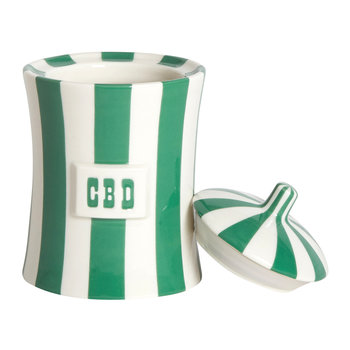 Vice Canister - CBD - Green/White