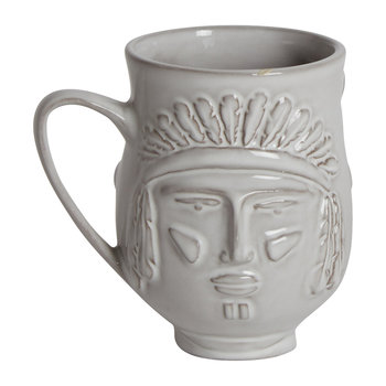 Utopia Macho Macho Mug - Cowboy/Indian