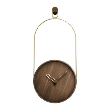 Eslabon Wall Clock - Gold