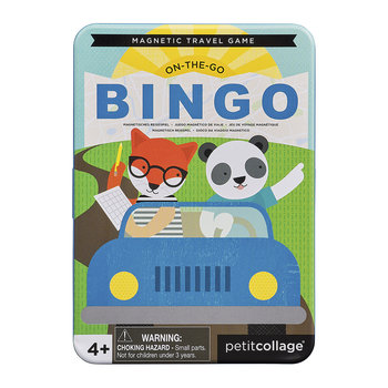 Animal Bingo Travel Game