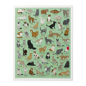 Cat Lovers Jigsaw Puzzle - 1000 Piece