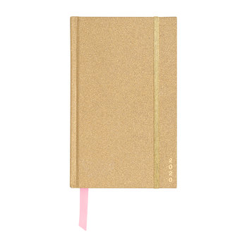 12 Month Classic Planner - Gold Glitter