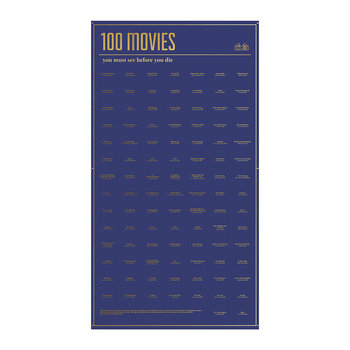 100 Must-Do Poster - 100 Movies