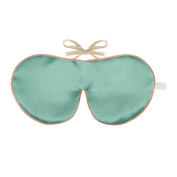 Pure Mulberry Silk Eye Mask - Jade