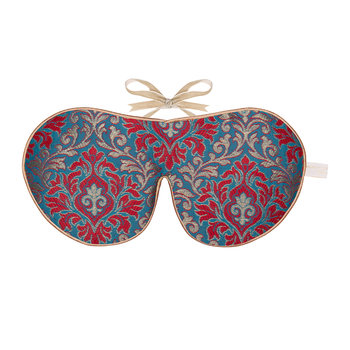Limited Edition Eye Mask - Scarlet Brocade