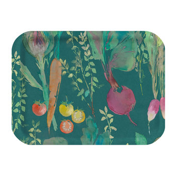 Vegetable Patch Rectangular Tray - Chard