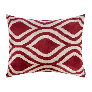 Velvet Pillow - 40x50cm - Pink Pattern
