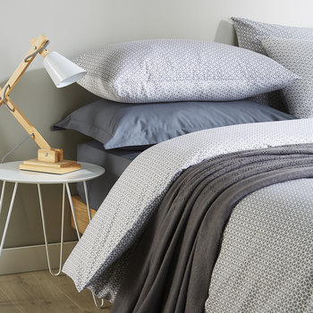 Namiko Duvet Set - Granite