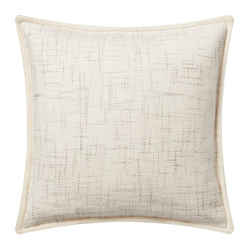 Ashington Cushion Cover - Cream - 45x45cm