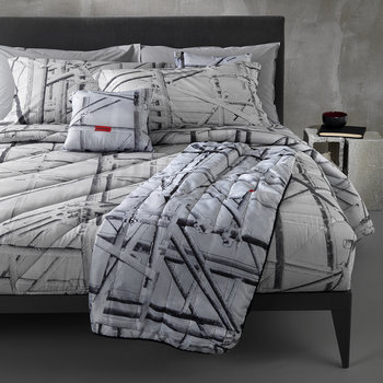 Work In Progress Duvet Set - Gray
